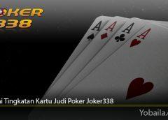 Pahami Tingkatan Kartu Judi Poker Joker338