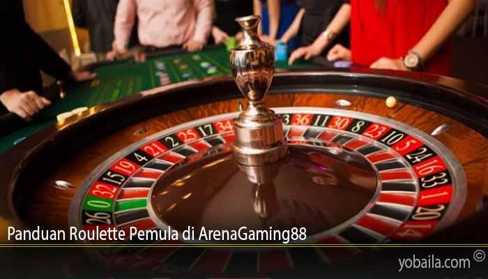 Panduan Roulette Pemula di ArenaGaming88